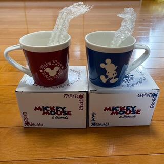 ミッキーマウス Disney マグカップ 2個セット