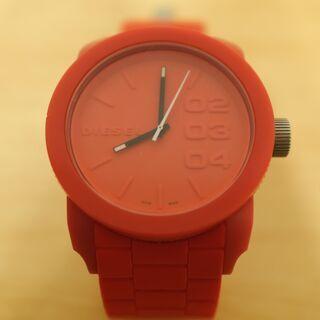【送料込】DIESEL スポーティー腕時計