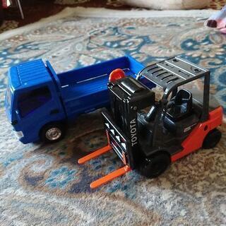 トラック フォークリフト セット