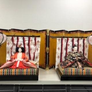 【ネット決済】7段雛人形(京都島津)