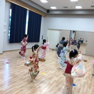 文化庁こども無料体験❣️  日本舞踊(日舞)👘