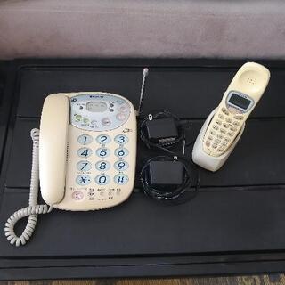 SHARPシャープ 電話機 留守番電話機能付き