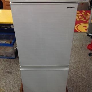 【最短即日配送可能!】137L 冷凍冷蔵庫 SHARP 【965...