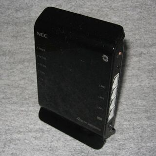 NEC無線LAN親機 PA-WG1200HS (ac対応)