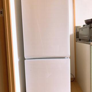 【取引決定】冷蔵庫2段 1人〜2人用 2年半使用