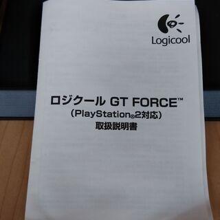 美品:Logicool GT FARCE PS2対応 (ゲーム ハンドル)    - おもちゃ