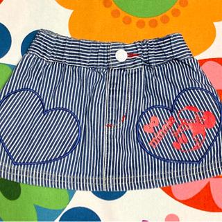 【値下】80cm ミニー ヒッコリー スカート