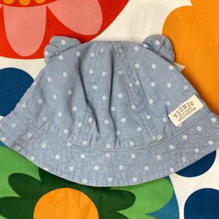 【値下】MIKI HOUSE ピクニック 耳付き帽子 46cm ...
