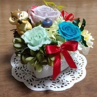 【新品】🌹枯れないお花🌹 プリザーブドフラワー④(ハート型の器です)
