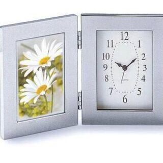 太田アート メタルフレーム 時計付