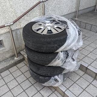 【ネット決済】nv350キャラバン 純正タイヤホイール