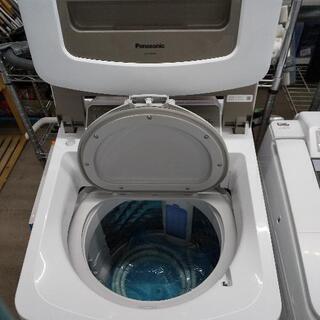佐賀中古洗濯乾燥機パナソニックの、2018年8K乾燥4.5K税込 - 佐賀市