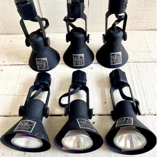 スポットライト 照明器具(口金E11) 配ダクト用 黒 照明器具...