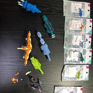 プチブロック 恐竜セット ナノブロック レゴ