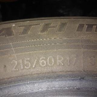 タイヤ 215/60R17トーヨー トランパス 4本セット - 売ります・あげます