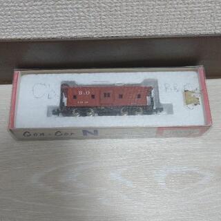 希少品 初期の関水金属製 海外型Nゲージ B&O カブース