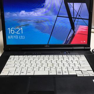 [値下げしました]ノートパソコン FUJITSU Windows...