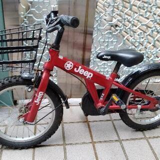 Jeep 赤 子供用自転車