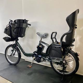 関東全域送料無料 保証付き 電動自転車 パナソニック ギュットミニ 20インチ 12ah 3人乗り デジタル - さいたま市