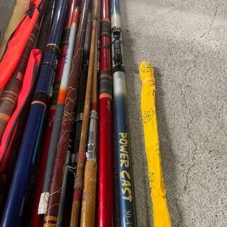 【大量】釣り竿 まとめ売り SHIMANOバッグ付き イロイロ 海釣り 川釣り 早いもの勝ち! 配送OK - スポーツ