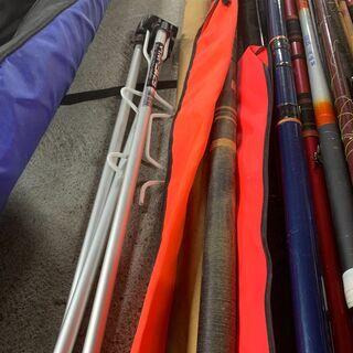 【大量】釣り竿 まとめ売り SHIMANOバッグ付き イロイロ 海釣り 川釣り 早いもの勝ち! 配送OK − 北海道
