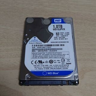 【ネット決済】1TB HDD