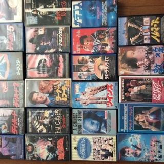 VHS映画ビデオテープ(洋画、邦画、アニメ)200本