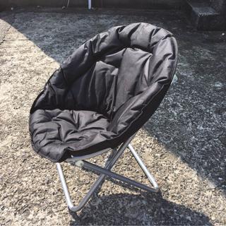 ④折りたたみ新品 リラックスチェアー ムーンチェアー 椅子 キャ...