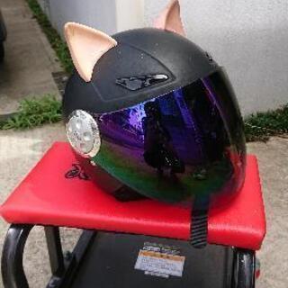 子供用 ジェットヘルメット バイク タンデム 2人乗り