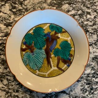 九谷焼 直径14cm小皿 5枚