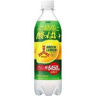 ★三ツ矢 サイダー 最高に酸っぱい グリーンレモン 500ml ...