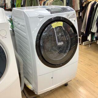 2016年製、HITACHI(ヒタチ)のドラム式洗濯乾燥機…