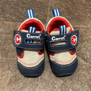 子供用シューズ 靴 12.5cm 青