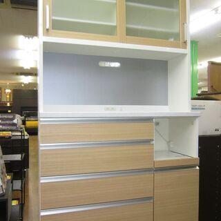 R088 国産 共和産業 キッチンボード、食器棚、幅121…