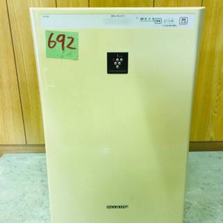692番 SHARP✨空気清浄機✨FU-E30-W‼️