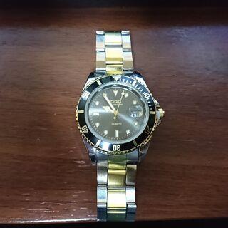 腕時計 メンズ デイトカレンダー付き