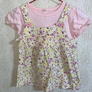 花柄Tシャツ♡95cm