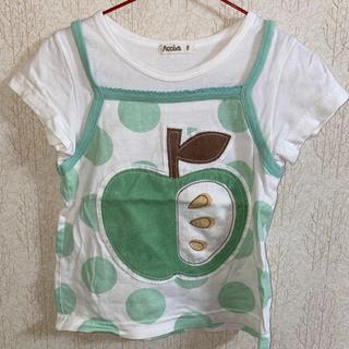 りんごTシャツ♡100cm
