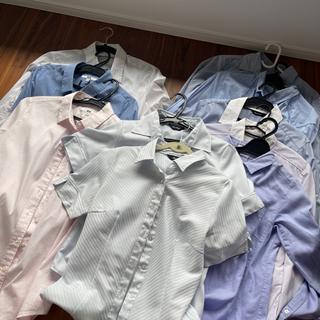 レディースオフィス用ブラウス 長袖8枚 半袖2枚 ユニクロベルメゾン