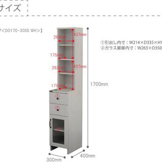 【ネット決済】DOLLY ドリー 隙間収納ラック (幅30cmタイプ)