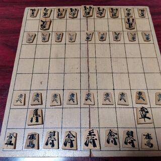 将棋盤と駒セット