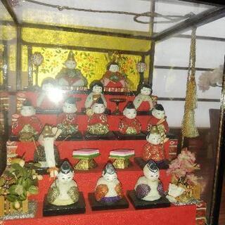 昭和の香りコンパクトな雛人形