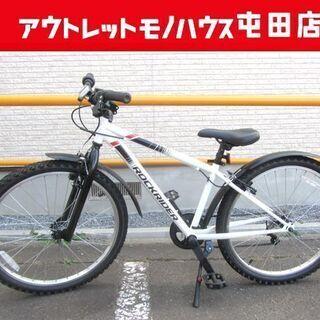 美品 マウンテンバイク Rockrider ST100 24イン...