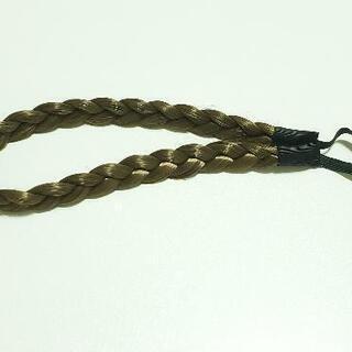 髪の毛につける三つ編みカチューシャ