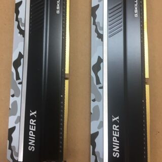G.Skill SniperX F4-3600 8G 2枚…