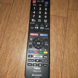 シャープ AQUOS アクオス テレビリモコン GB228…