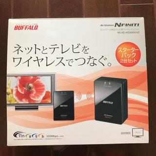 中古品 BUFFALO WLAE-AG300N/V2