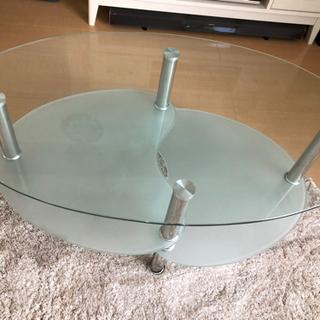 【ネット決済】ガラステーブル