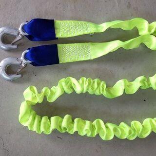 ■牽引ロープ 槌屋ヤック のびるのびるロープ 最大4m 2…