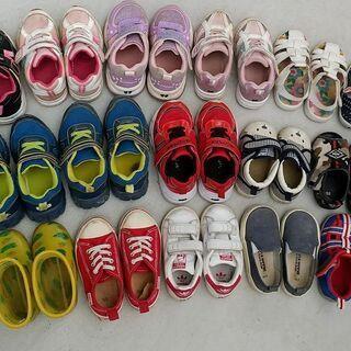 子供用の靴 1足100円 全16足